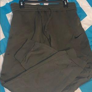 Men's Nike Army Green Sweatpants